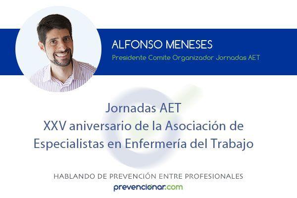 Jornadas AET XXV aniversario de la Asociación de Especialistas en Enfermería del Trabajo