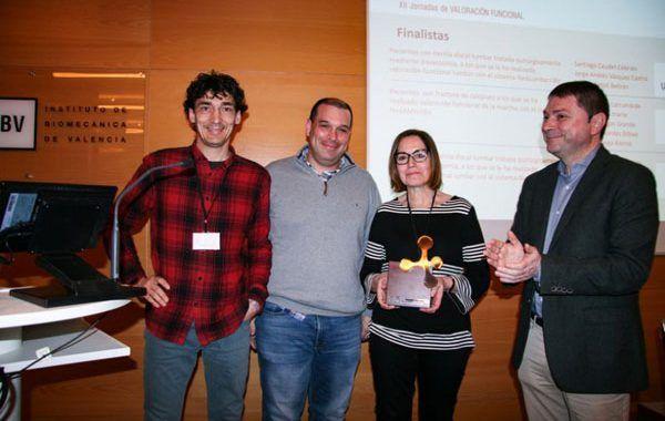 Unión de Mutuas premiada por un estudio de valoración funcional de la columna lumbar