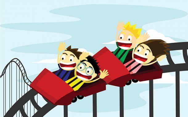 ¿Te subirías a una montaña rusa sin cinturón de seguridad?