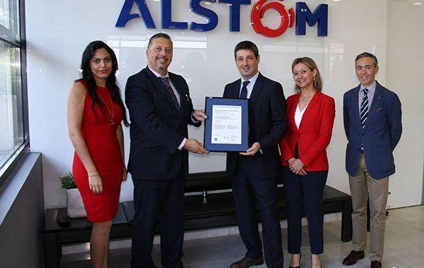 Alstom España, primera empresa en España en obtener la certificación ISO 45001: 2018
