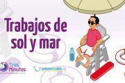 Mutua Balear ofrece consejos prácticos de prevención laboral a personal de playa