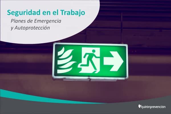 Diferencias entre un Plan de autoprotección y un Plan de emergencia