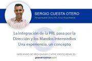 La integración de la PRL pasa por la dirección y los mandos intermedios