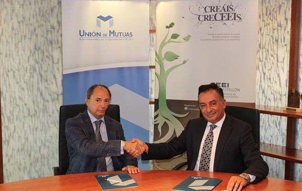 CEEI Castellón y Unión de Mutuas colaborarán en proyectos de salud y prevención