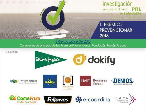 Invitación Gala Premios Prevencionar