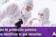 Trajes de protección química: cómo identificar el que necesitas