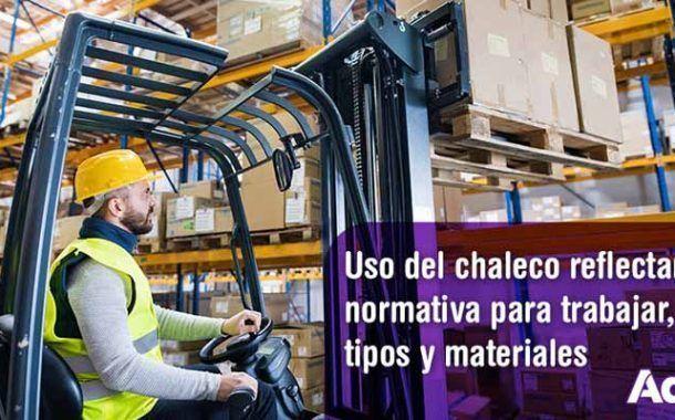 Uso del chaleco reflectante: normativa para trabajar, tipos y materiales