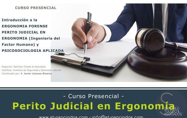 Curso Presencial: Perito Judicial en Ergonomía