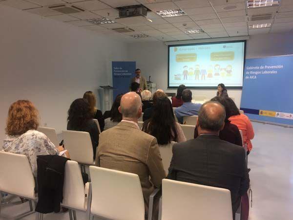 AICA organiza un taller para derribar mitos y conocer cómo prevenir y cómo actuar ante el ictus en el entorno laboral