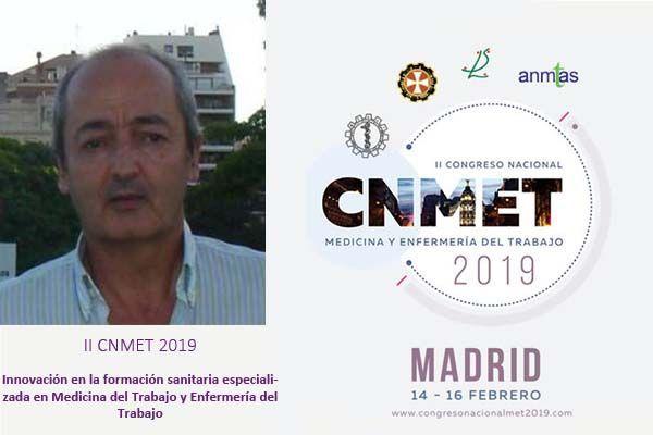 CNMET2019: Innovación en la formación sanitaria especializada en Medicina del Trabajo y Enfermería del Trabajo