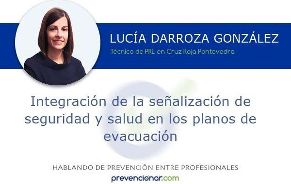 Integración de la señalización de seguridad y salud en los planos de evacuación