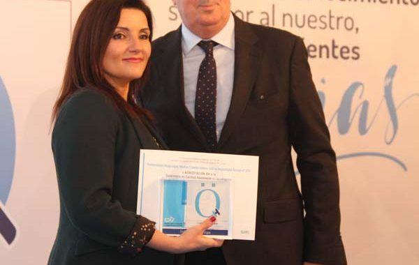 La calidad asistencial de Fraternidad-Muprespa, premiada con la Acreditación QH + 2 estrellas