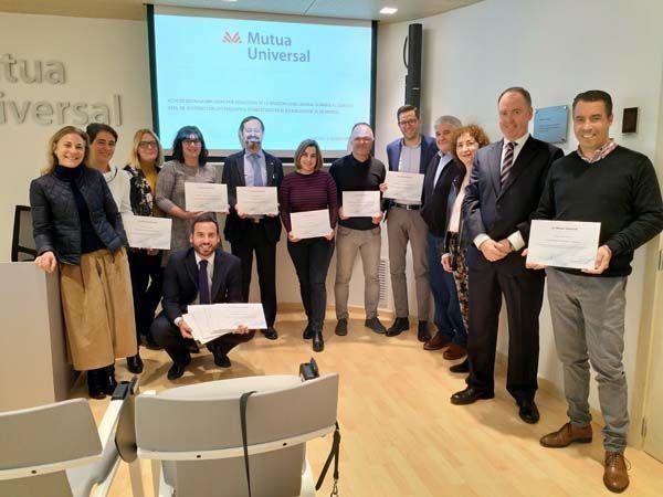 Mutua Universal entrega el 'Bonus Prevención' a empresas de la Comunidad de La Rioja