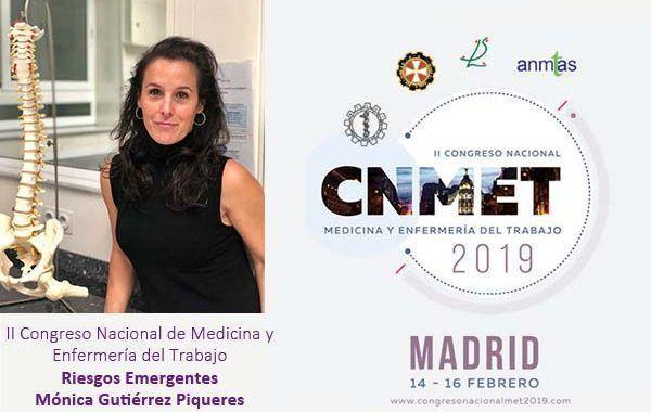 II Congreso Nacional de Medicina y Enfermería del Trabajo: Riesgos Emergentes