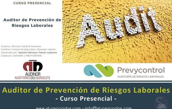 Curso Presencial: Auditor de Prevención de Riesgos Laborales