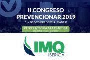 IMQ Ibérica patrocinador del II Congreso Prevencionar 2019