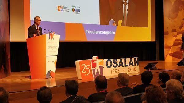 Iñigo Urkullu ha inaugurado el IV Congreso Internacional de Seguridad y Salud en el Trabajo Análisis de los desafíos laborales del mañana