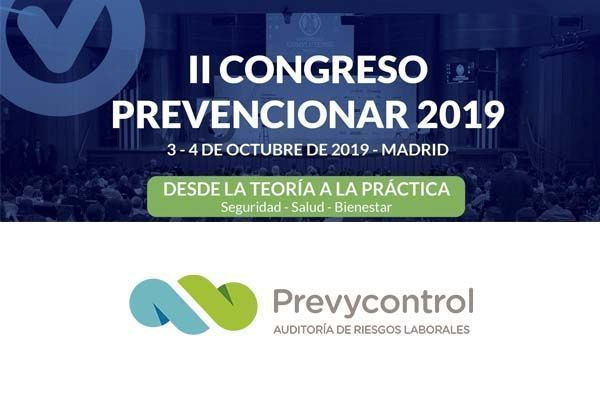 Prevycontrol patrocinador del II Congreso Prevencionar 2019