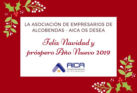 La Asociación Empresarios Alcobendas AICA os desea Feliz Navidad