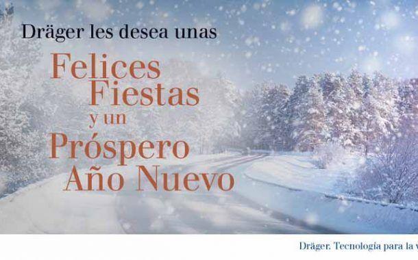 Dräger les desea unas Felices Fiestas y un Próspero Año Nuevo