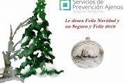Servicios de Prevención Ajenos les desea Feliz Navidad y un seguro y Feliz 2019