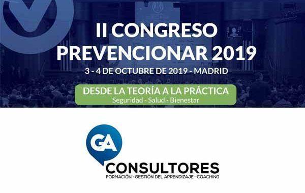 GA Consultores patrocinador del II Congreso Prevencionar 2019