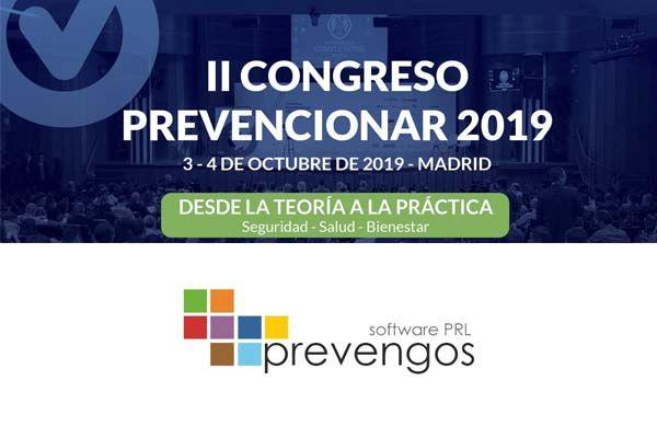 Prevengos patrocinador del II Congreso Prevencionar 2019