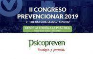 Psicopreven patrocinador del II Congreso Prevencionar 2019