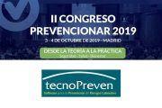 TecnoPreven patrocinador del II Congreso Prevencionar 2019