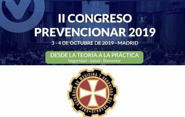 La Sociedad Española de Medicina y Seguridad del Trabajo (SEMST) se suma al II Congreso Prevencionar 2019