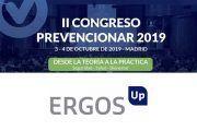 Ergos Up patrocinador del II Congreso Prevencionar 2019