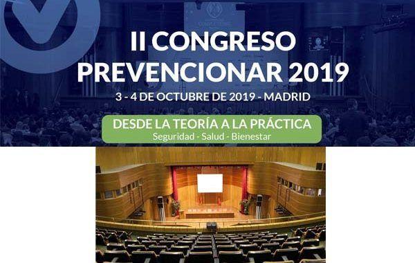 La Facultad de Medicina de la UCM repite como sede del II Congreso Prevencionar 2019