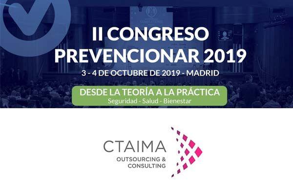 Ctaima patrocinador del Congreso Prevencionar 2019