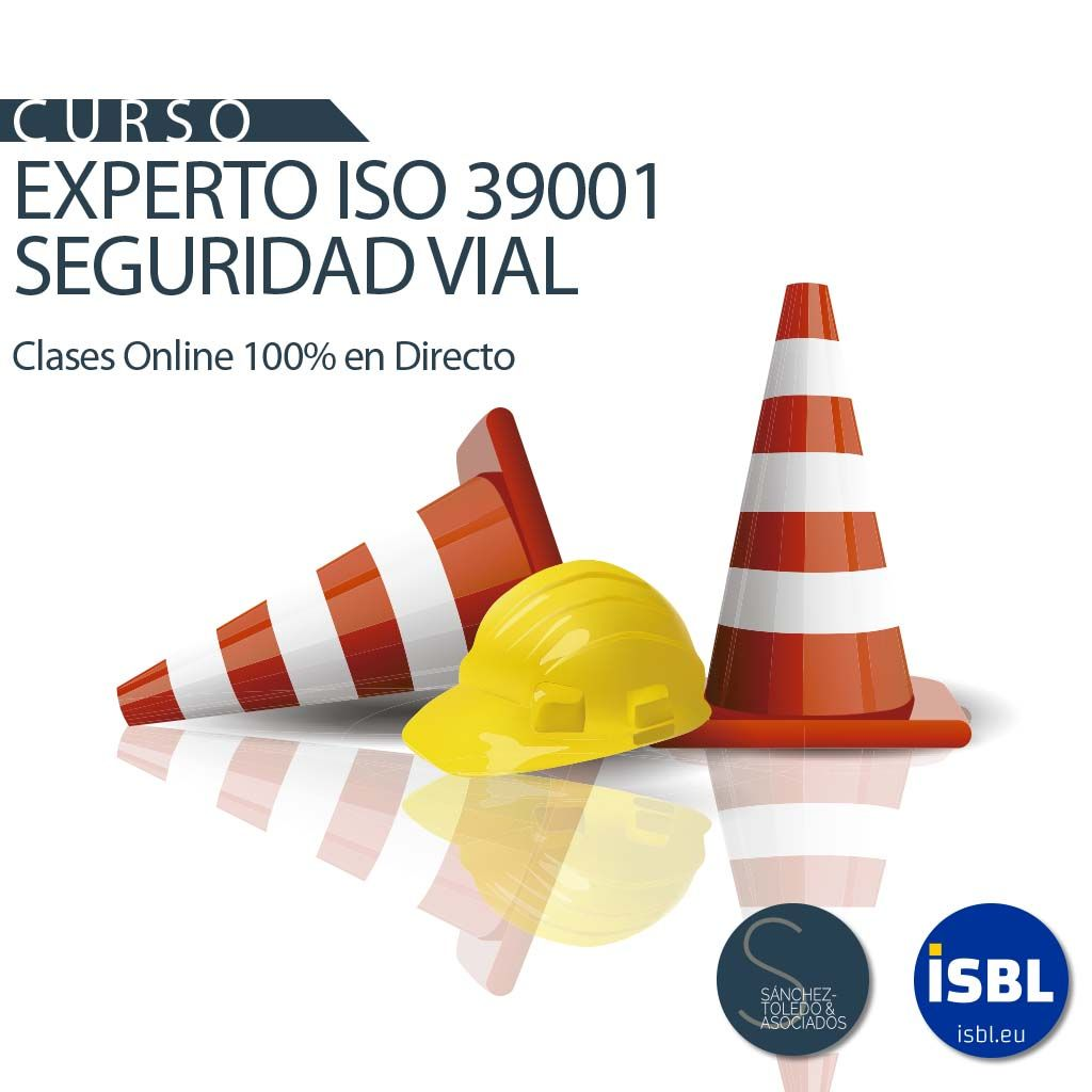 Curso Experto ISO 39001 | Última semana de matricula - 100% OnLine