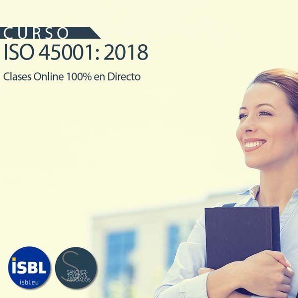 Curso Experto ISO 45001:2018 | Última semana de matricula - 100% OnLine