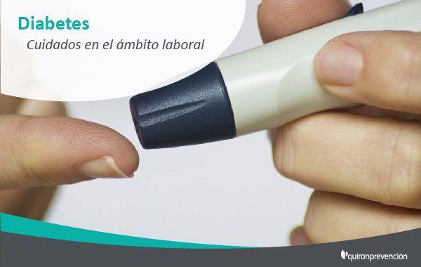¿Te gustaría conocer la relación entre la diabetes y el trabajo?