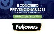 Fellowes patrocinador del Congreso Prevencionar 2019