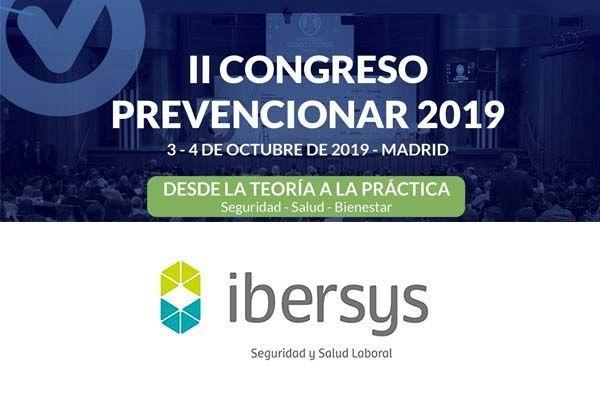 Ibersys patrocinador del II Congreso Prevencionar 2019