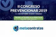 Metacontratas patrocinador del II Congreso Prevencionar 2019