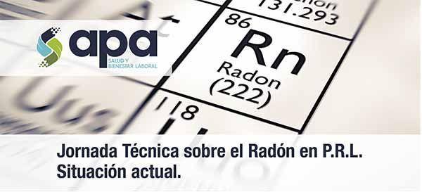 Jornada Técnica en Galicia sobre el Radón en Prevención de Riesgos Laborales