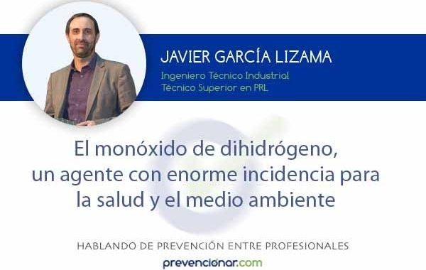El monóxido de dihidrógeno, un agente con enorme incidencia para la salud y el medio ambiente
