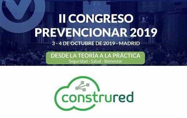 Construred patrocinador del II Congreso Prevencionar 2019