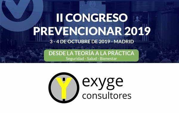 exYge Consultores patrocinador del II Congreso Prevencionar 2019