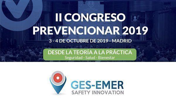 Ges-emer Safety Innovation patrocinador del II Congreso Prevencionar 2019