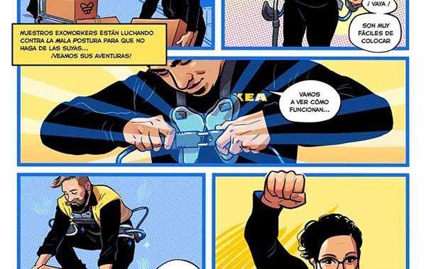 Llegan los exoesqueletos a IKEA