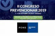 PONS Seguridad Vial patrocinador del II Congreso Prevencionar 2019