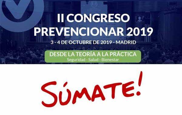 Más de 60 organizaciones ya se han sumado al II Congreso Prevencionar 2019 ¿quieres conocerlas?