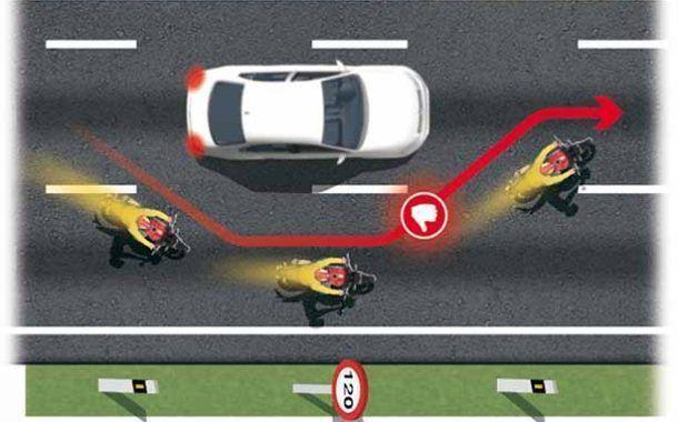10 infracciones peligrosas para trabajadores con motos