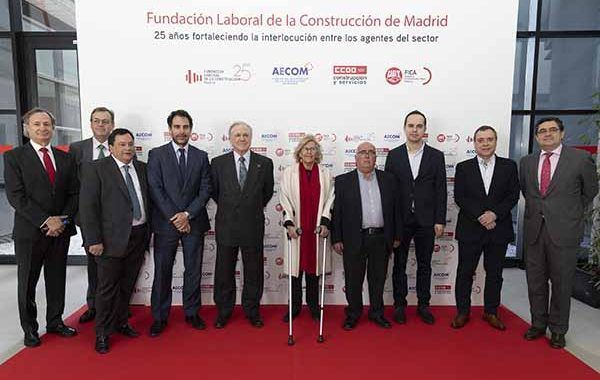 La Fundación Laboral de la Construcción de Madrid ha celebra su 25 aniversario