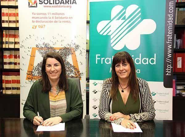 Fraternidad-Muprespa firma un convenio con la Plataforma de ONG de Acción Social para trabajar a favor de colectivos vulnerables